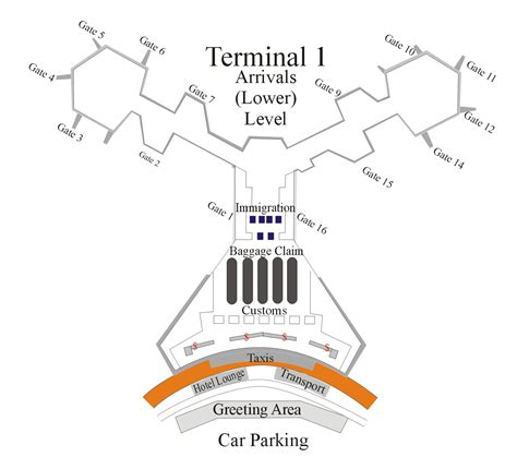 naia terminal 1 floor plan manila airport terminal 1 philippines transportation
