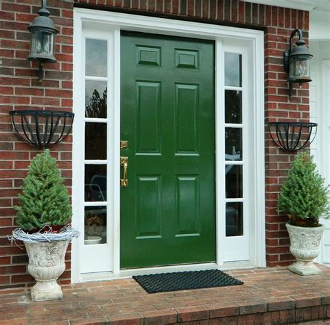 Green Exterior Door Best 25 Green Front Doors Ideas On Green Doors Best Front Door Colors And