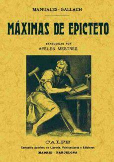 MAXIMAS DE EPICTETO | EPICTETO | Comprar libro 9788490013502