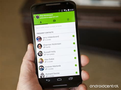hangouts app for android hangouts gets a whole lot smarter brings last seen timests and more android central
