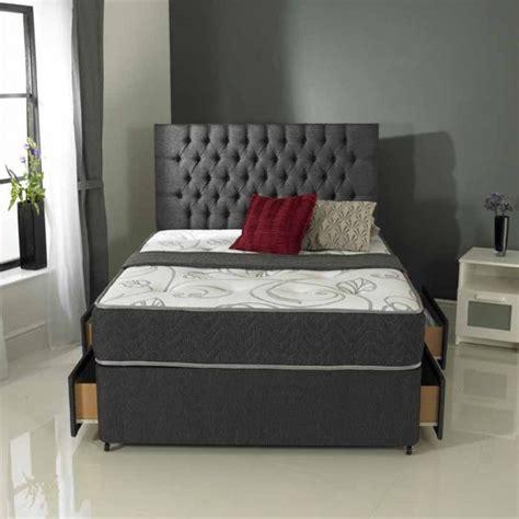 Divan Springbed Chelsea Uk160200 Size romantica moonlight orchid divan set mattress kettering bedding centre