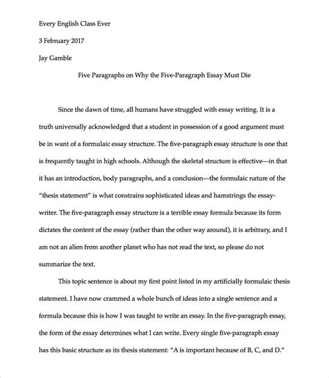 Formulaic Five Paragraph Essays by Essay Formula Essay Writing Formula Leadership Quality Essay Grant Writing The Of The Five