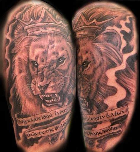 christian tattoo artists virginia black and gray lion of judah by mathew hays tattoonow
