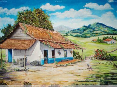 casa cuadros paisajes de una casa imagui