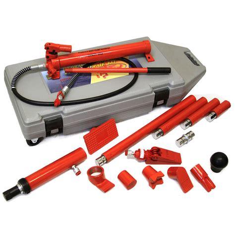 10 ton porta power hydraulic frame repair kit
