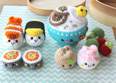 pattern amigurumi food crochet pattern amigurumi food bento family crochet pattern