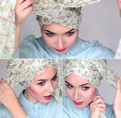 tutorial turban untuk berenang tutorial hijab turban tanpa jarum untuk musim dingin