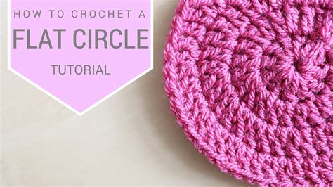 how to knit a flat circle with circular needles crochet how to crochet a flat circle coco