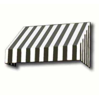 striped awning black white stripe awnings doors windows the home