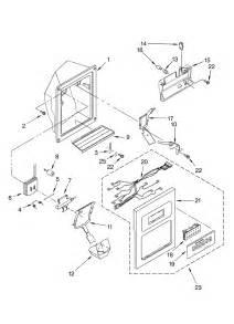 Kitchenaid Refrigerator Parts Maker Kitchenaid Side By Side Refrigerator Maker Optional