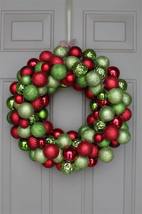 25 best ideas about ornament wreath on pinterest diy