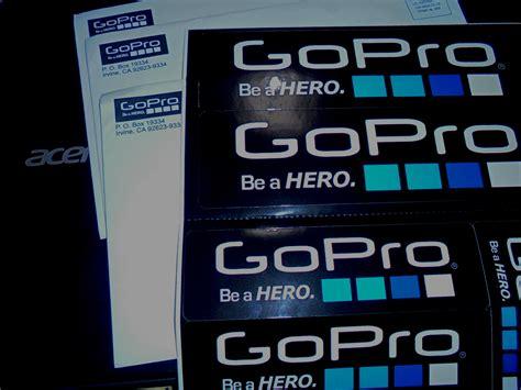 Asli Gopro 3 cara mendapatkan stiker asli gopro gratis mymastah