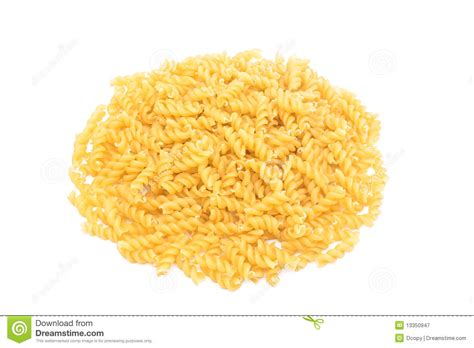 Macaroni Spiral By Macaroni Factory italian pasta in the form of spirals royalty free stock photography image 13350947