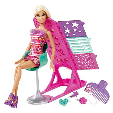 design a doll smyths barbie hairtastic colour and design doll reviews toylike