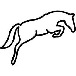 Prancing Outline by Outline Template Clipart Best
