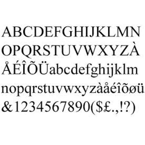 Times New 3mm mdf times new font letters and numbers