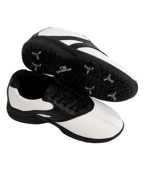boys golf shoes us boys spiked lace golf shoes golfonline