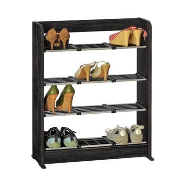 Rack Sepatu 2716 Graver jual rak sepatu plastic kayu original harga promo blibli