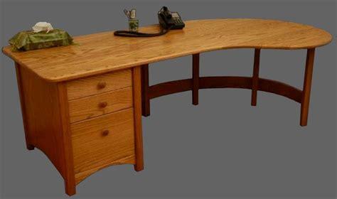 www woodwork smd woodwork curved oak desk