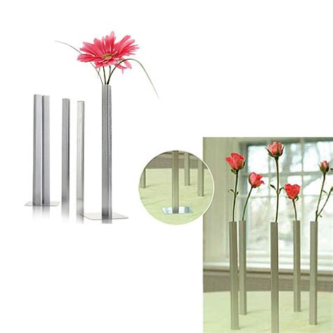 magnetic bud vases standing out decor
