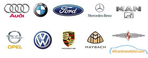 cars brands top 10 world s logos with a meanings