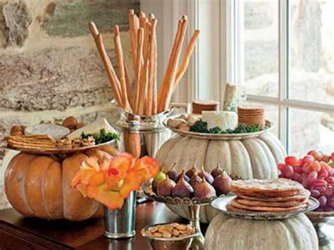 thanksgiving buffet table decor ideas buffet design