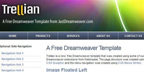 best free dreamweaver templates muddassir khanani 30 best free dreamweaver templates