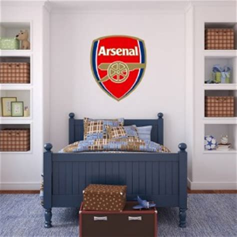 football home decor choose size arsenal logo decal removable wall sticker