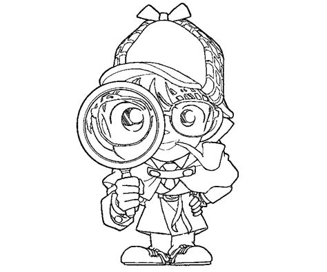 spy coloring pages to download and print for free 4 detective conan coloring page agency d3 pinterest