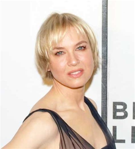 actresses that have thinning hair renee zellweger keeps her hair short to hide hair loss