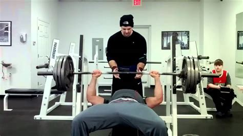345 bench press 345 lbs bench press richard atkison youtube