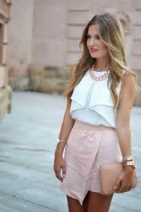 faldas y blusas para bodas 2016 m 225 s de 25 ideas incre 237 bles sobre falda rosa en pinterest