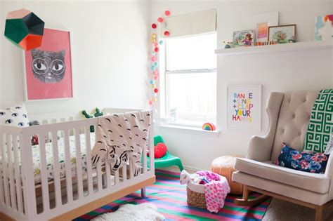 colorful nursery lark s colorful bohemian modern nursery project nursery