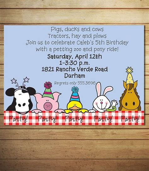 Zoo Invitation Letter 110 Best Petting Zoo Birthday Images On