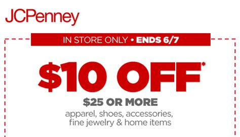 Jcpenney Giveaway Coupons 2017 - mobile jcpenney coupon june 2017 10 off 25 today at jcpenney