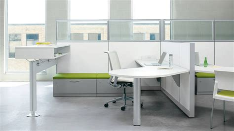 white modular office furniture systems with l shape desk
