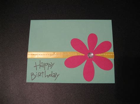 Home Made Birthday Cards Homemade Birthday Card Homemade Cards Pinterest