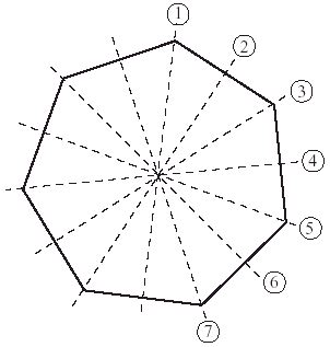 how many four sided figures appear in the diagram below regular octagon lines of symmetry www pixshark