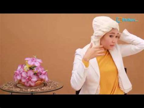 tutorial turban formal tutorial hijab cara memakai jilbab turban untuk acara