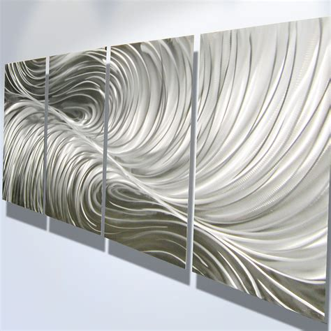 Modern Metal Wall Decor by Metal Wall Decor Abstract Modern By