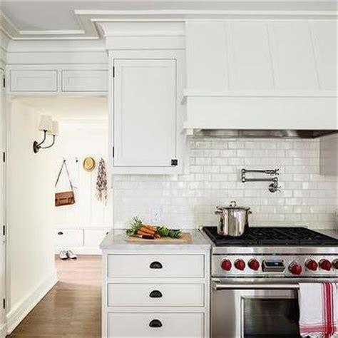 mini subway tile kitchen backsplash glazed tiles design decor photos pictures ideas
