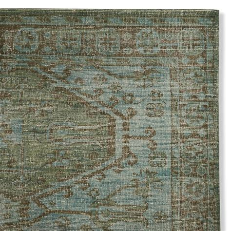 williams sonoma rugs anatolia overdyed knotted rug williams sonoma