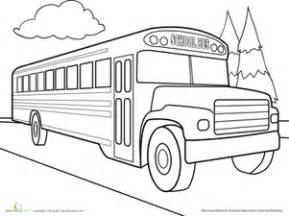 what color are school buses color the car school coloring page education school