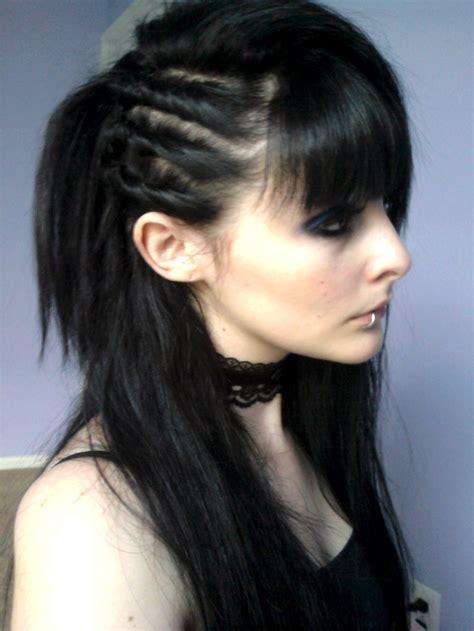 ideas  goth hairstyles  pinterest grunge