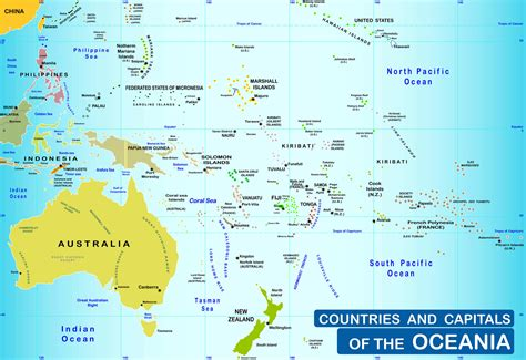 map of oceania oceania map www pixshark images galleries with a bite