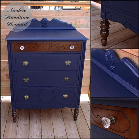 clean chic dresser  coastal blue milk paint general