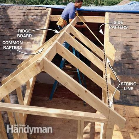 Dormer Roof Framing How To Frame A Gabled Dormer The Family Handyman