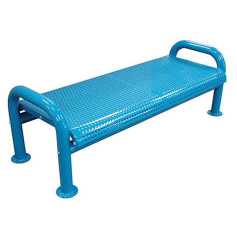 wire bench u leg wire bench without back terracast