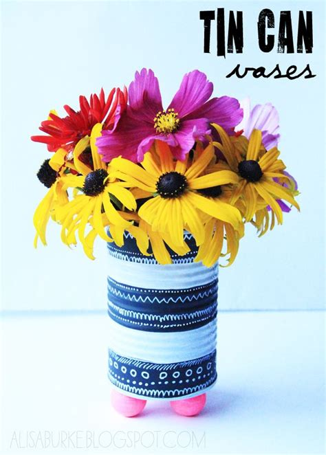 Tin Can Vase by Tin Can Vases Crafty
