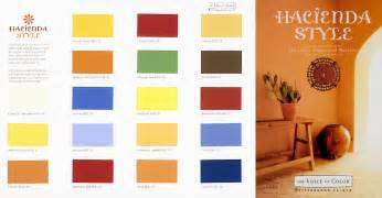 paint colors hacienda style